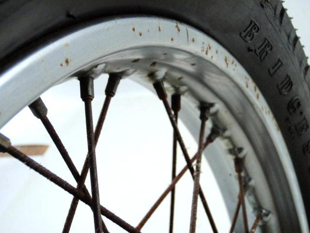 1977 Honda CB550 77 CB 550 K Rear Wheel w/Tire