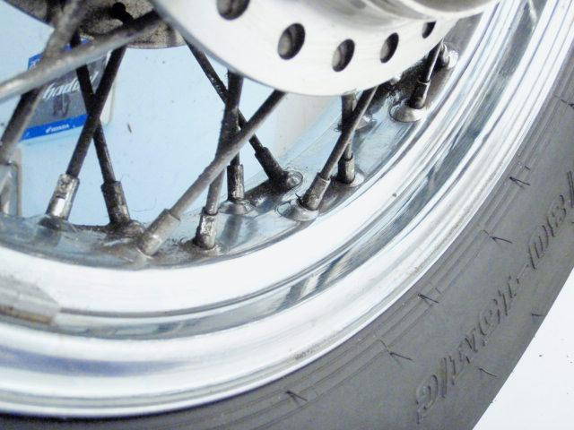 2006 Honda Shadow VT600/06 Spirit 600 Rear Wheel w/Tire
